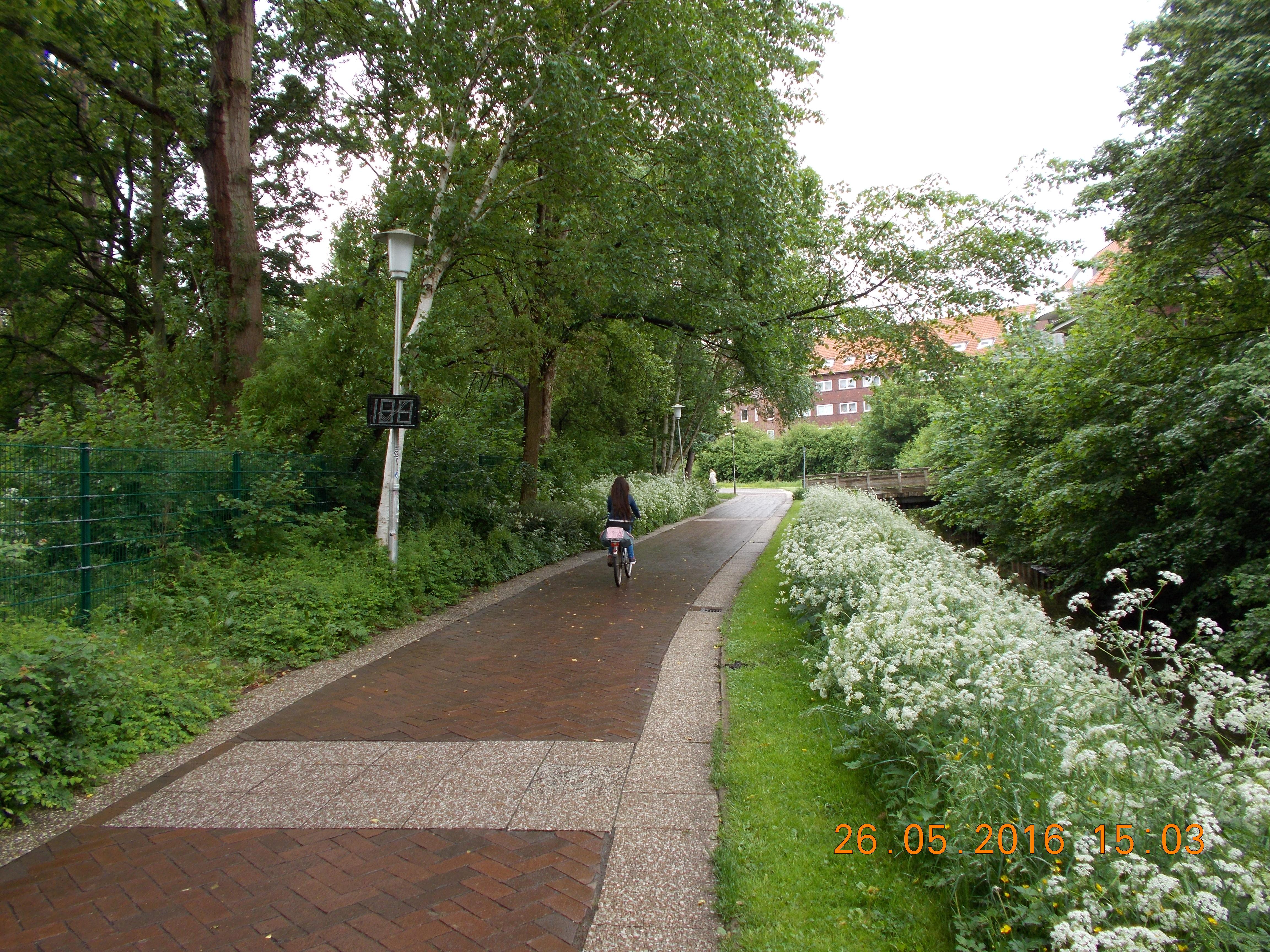 Radverkehrszählungen in Cuxhaven – Claus-Oellerich-Weg
