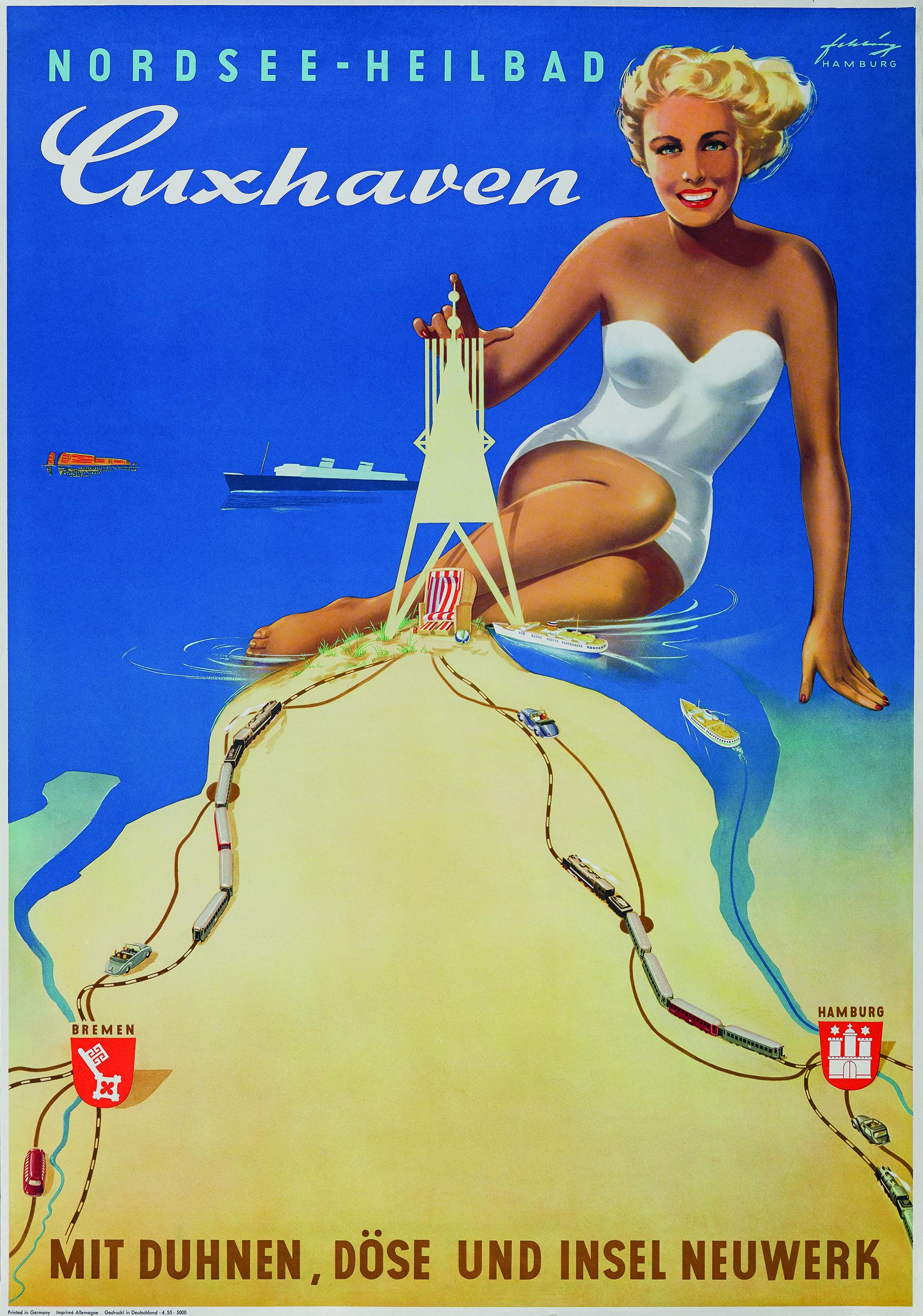CUXHAVENs schönste Seiten - Tourismuswerbung in der 200-jährigen Geschichte des Seebades