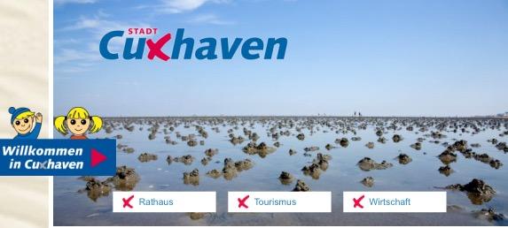"""""""Willkommen in Cuxhaven"""" - Neue Homepage online"""