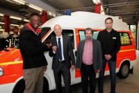 Krankenwagen für Kamerun