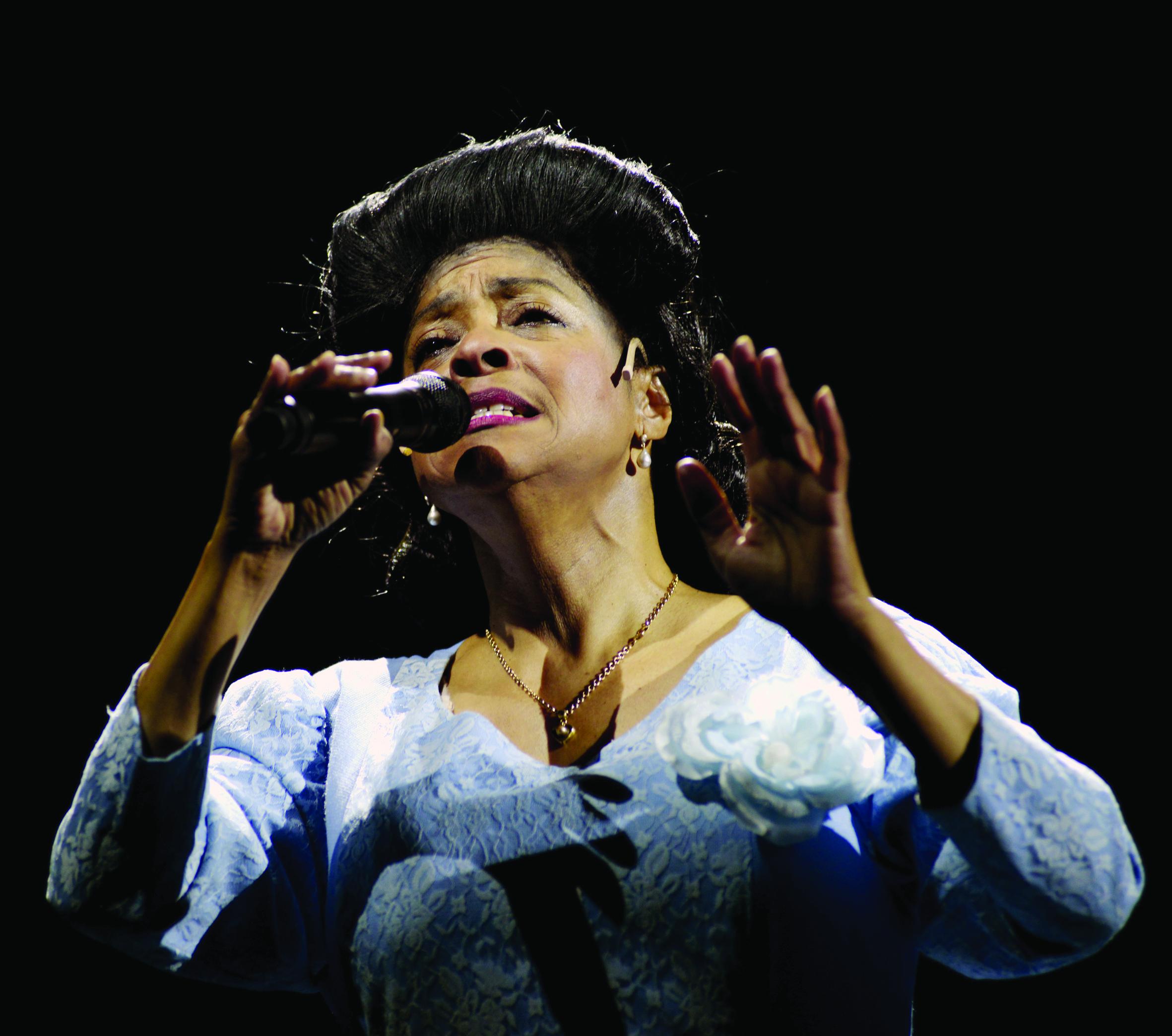 """Joan Orleans als """"Mahalia – Queen of Gospel"""""""