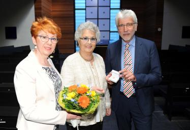 Goldene Ehrennadel für Rachel Grossbach