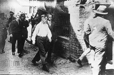 Verhaftung 1934