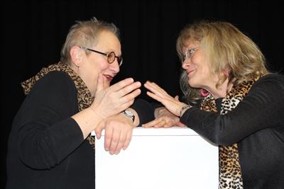 Ulla Elbers und Martina Licht
