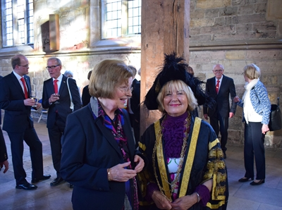 Empfang in der Guildhall