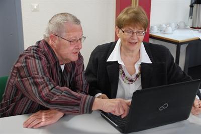 PC-Kurs für Senioren (Foto: Stadt Bocholt)