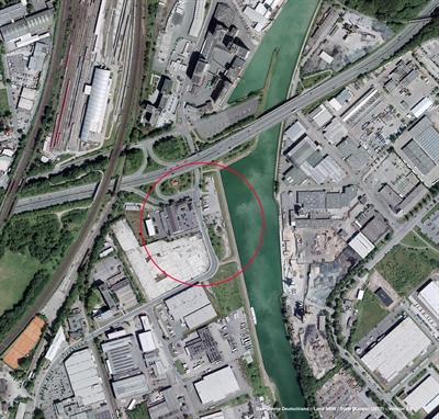 Fläche Kanal - Robert-Bosch-Straße