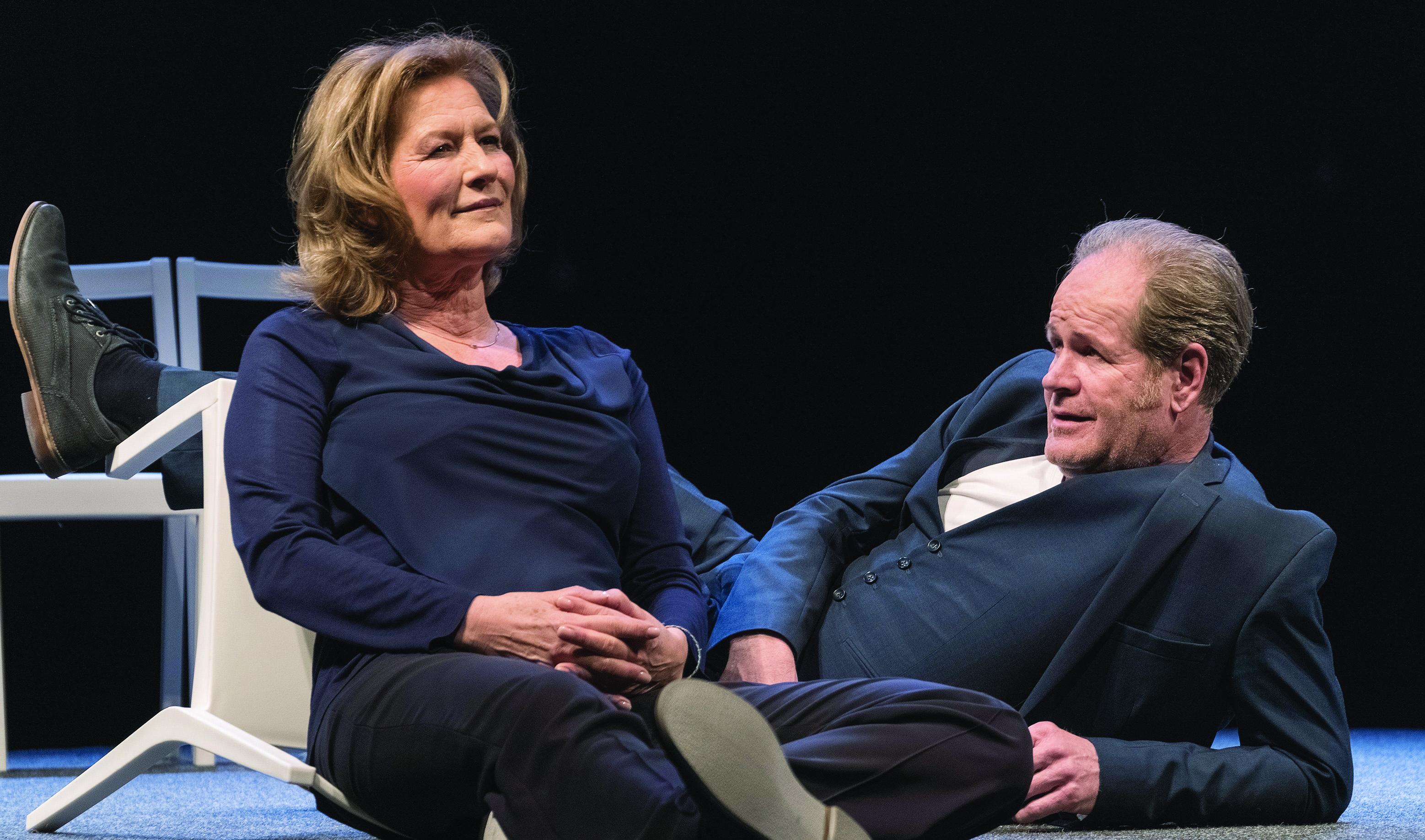 """Susanne von Borsody und Guntbert Warns in: """"Konstellationen"""""""