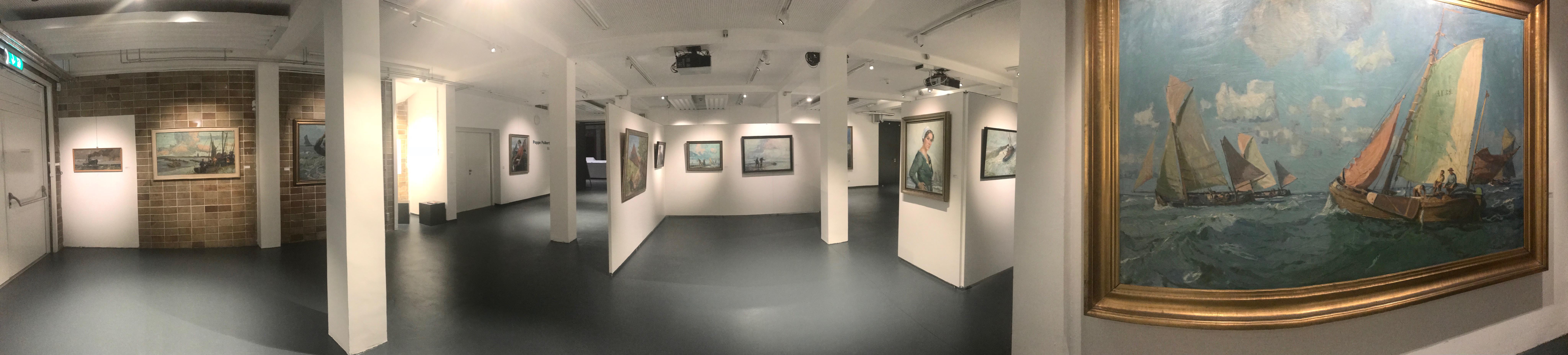"""Poppe Folkerts. Maritime Malerei - Eine Sonderausstellung im Museum """"Windstärke 10"""" noch bis 18. Februar 2018"""