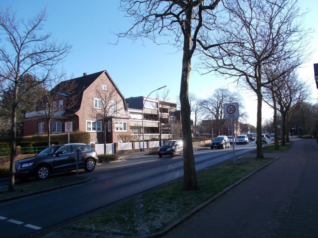 Einrichtung einer Tempo 30 – Zone im Bereich um die Südersteinstraße