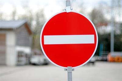 Verkehrszeichen 257 - Verbot der Einfahrt