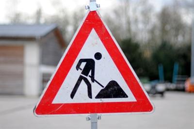 Verkehrszeichen 123 - Baustelle