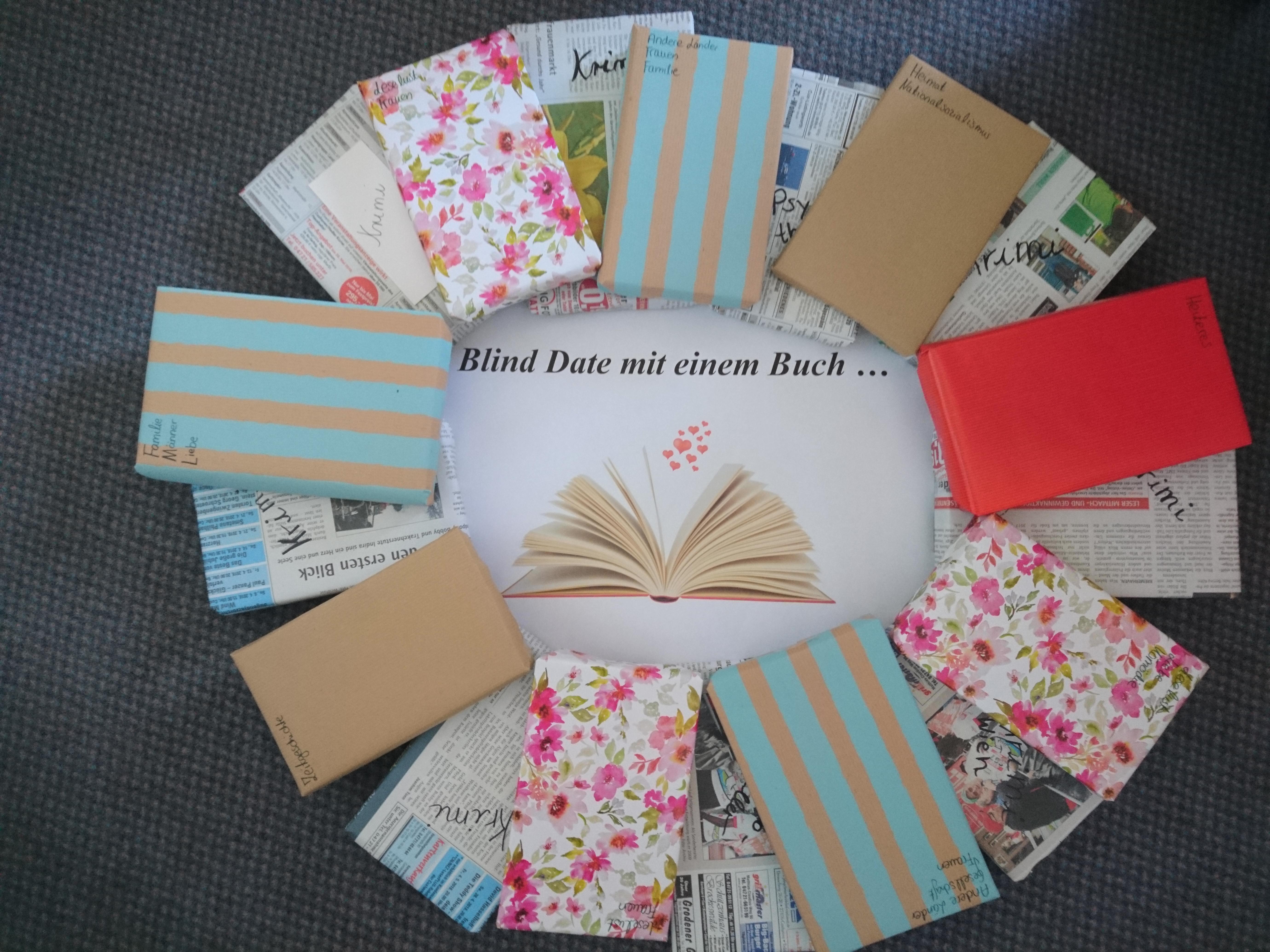 Blind Date mit einem Buch!