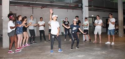 Europa: Jugencamp 2018 - Breakdance-Workshop