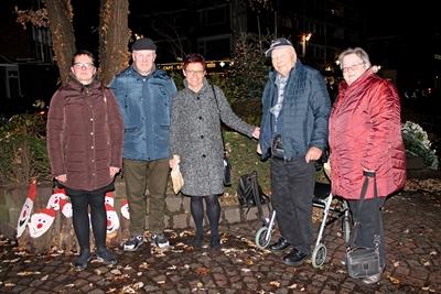 Holzschnitzer aus Akmene in Bocholt zu Gast
