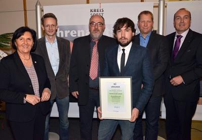 Ehrenamtspreis für Schulkanuprojekt Lippstadt
