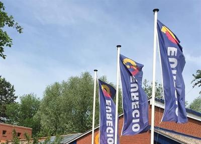 Flaggen vor Euregio-Sitz