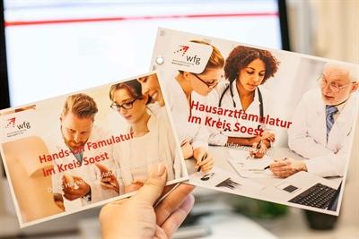 Werbung für Famulaturprogramm