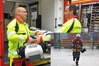 Brandmeister Notfallsanitäter