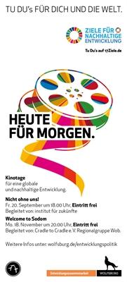 Flyer Wolfsburger Kinotagen