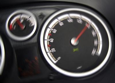 Langsam fahren!