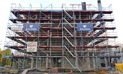 Neues Verwaltungsgebäude nimmt Form an