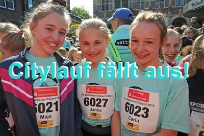 Sportstadt Bocholt. Citylauf 2020 fällt aus