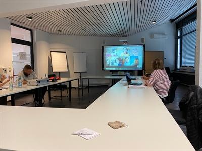 Europäisches Jugendcamp online - Vorbereitung