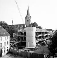 Neubau des Rathauses von Kempen 1965