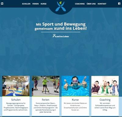 Screenshot Portal xundinsleben