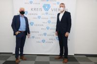 Landrat Dr. Andreas Coenen trifft den neuen Bürgermeister der Stadt Kempen, Christoph Dellmans