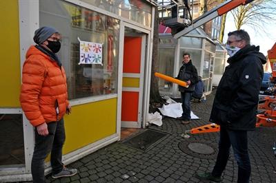 Zukunftsstadt: Pavillons werden zu Laternen - Bild 1