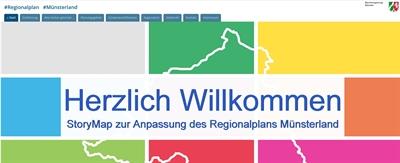 Neuer Internet-Auftritt zum Regionalplan Münsterland