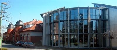 Stadtbibliothek Medienzentrum Außenaufnahme