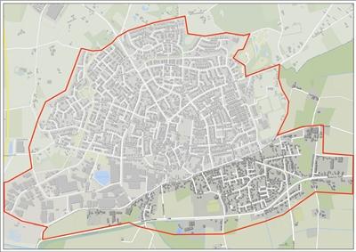 Karte Corona-Sondergebiet Suderwick/Dinxperlo