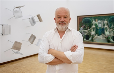 Der zukünftige Direktor des Museums Morsbroich