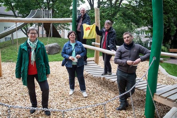 Eröffnung Spielplatz Hanseatenweg