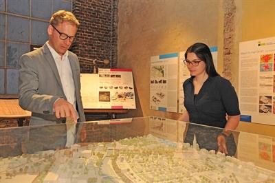 Ausstellung Grüne Architektur in historischer Substanz