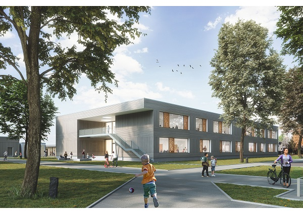 Neubau der Ernst-Leinius-Schule