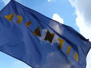 Atlantis-Fahne