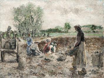 Carl Busch: Kartoffelernte
