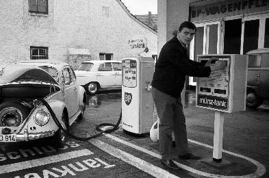 Münster 1964 - Tankstelle Eiteljörge