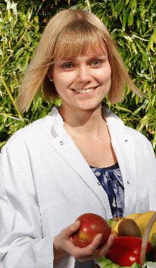 Oecotrophologin und Diätassistentin Saskia Turrek