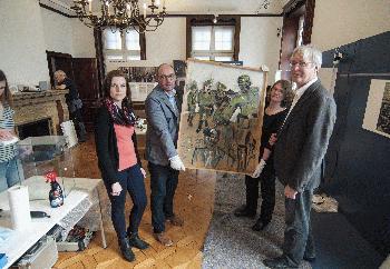 Villa ten Hompel: Aufbau