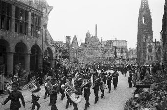 Truppenparade