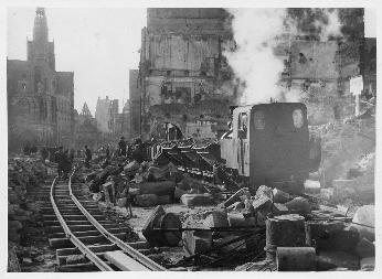 Trümmerbahn