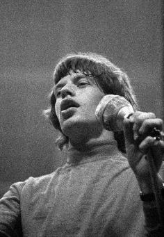 Rolling Stones 1965 in Münster - Mick Jagger