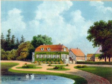 Haus Geist um 1800