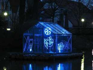 ©  - Lichtpromenade - Arche mit Häusern