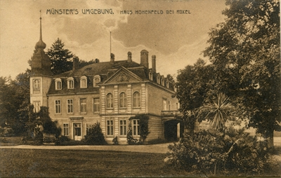 Postkarte Schloss Hohenfeld